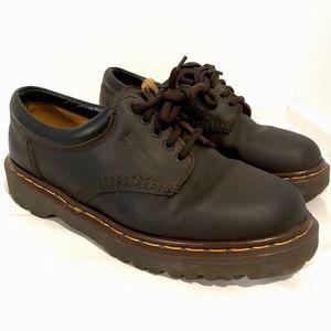 Dr Doc Martens Vintage Ankle Boots Brown